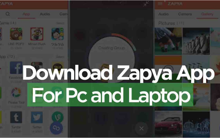 Zapya App Download For PC