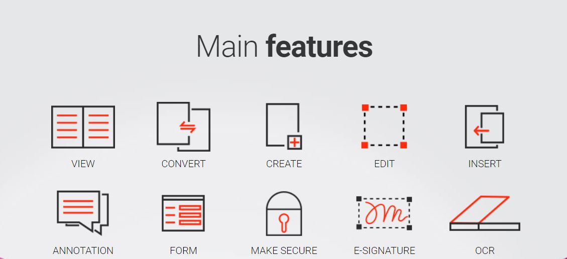 Features of App