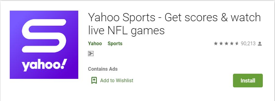 Yahoo Sports on Google Play Store