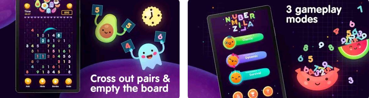 Numberzilla App Preview