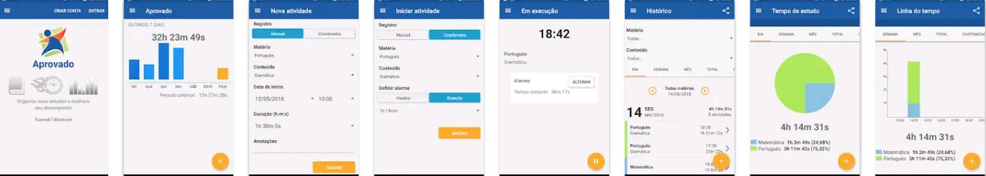 Preview of Arovado App